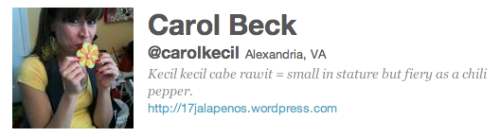 @CarolKecil