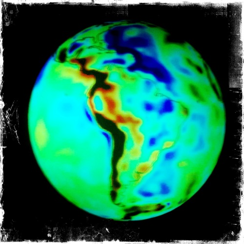 ESA GOCE image of Earth