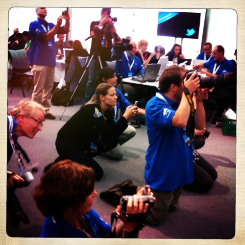 ESA/DLR SpaceTweetup TWaparazzi!