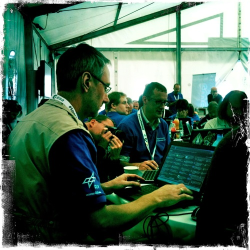ESA's @DanielScuka is tweeting for @ESAoperations.