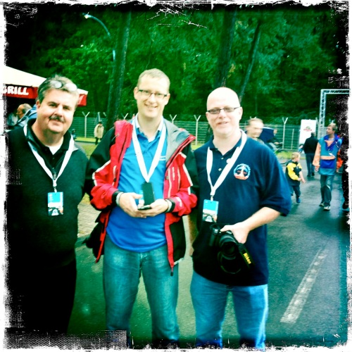 Lost with me on the grounds of German Space Day: @SpaceMike @Timmermansr @JohnnyMojo
