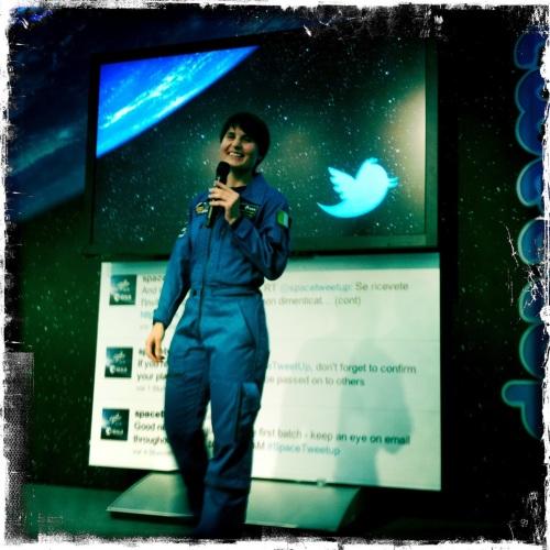 New ESA astronaut @AstroSamantha