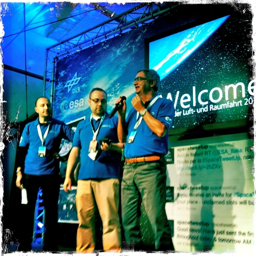 ESA/DLR SpaceTweetup Welcome