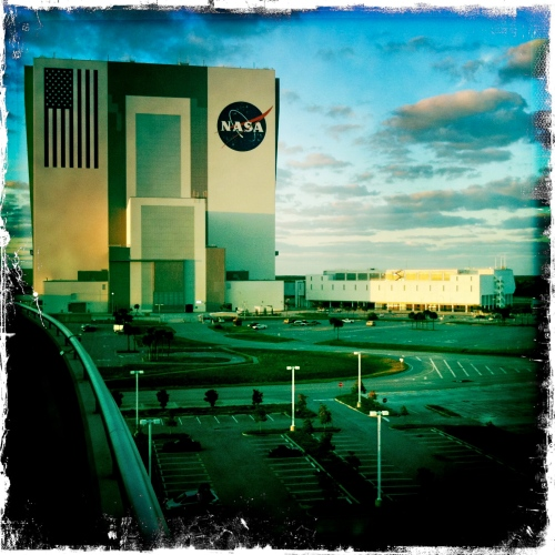 LAUNCH: Energy view of Vehicle Assembly Building