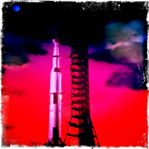 Saturn V (image taken inside Saturn V facility at Kennedy Space Center)