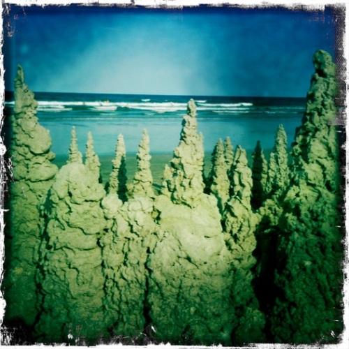 Cocoa Beach Sand Castles