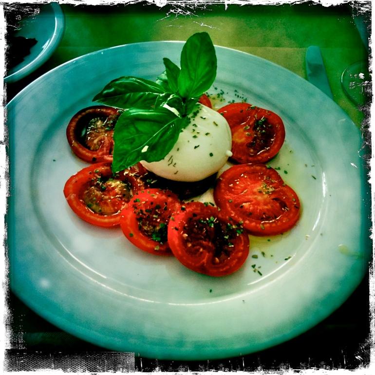 Yummy Italian lunch