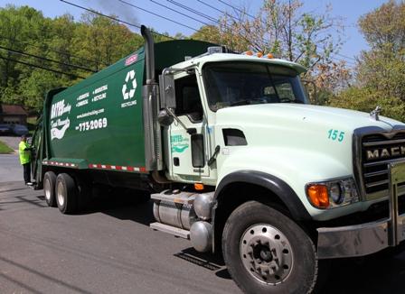 Alexandria City Collection Truck