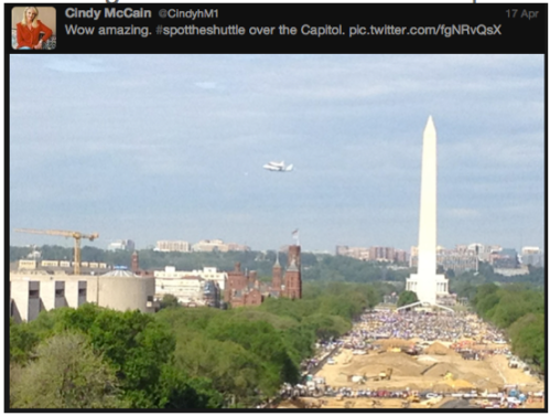 Discovery #SpotTheShuttle @CindyhM1