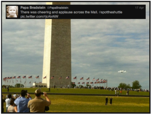 Discovery #SpotTheShuttle @PapaBradstein