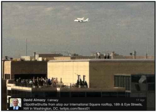 Discovery #SpotTheShuttle @almacy