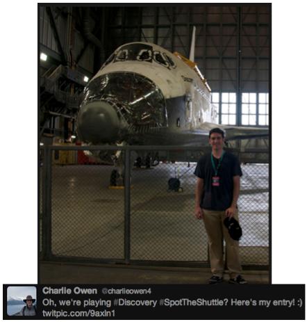 Discovery #SpotTheShuttle @charlieowen4