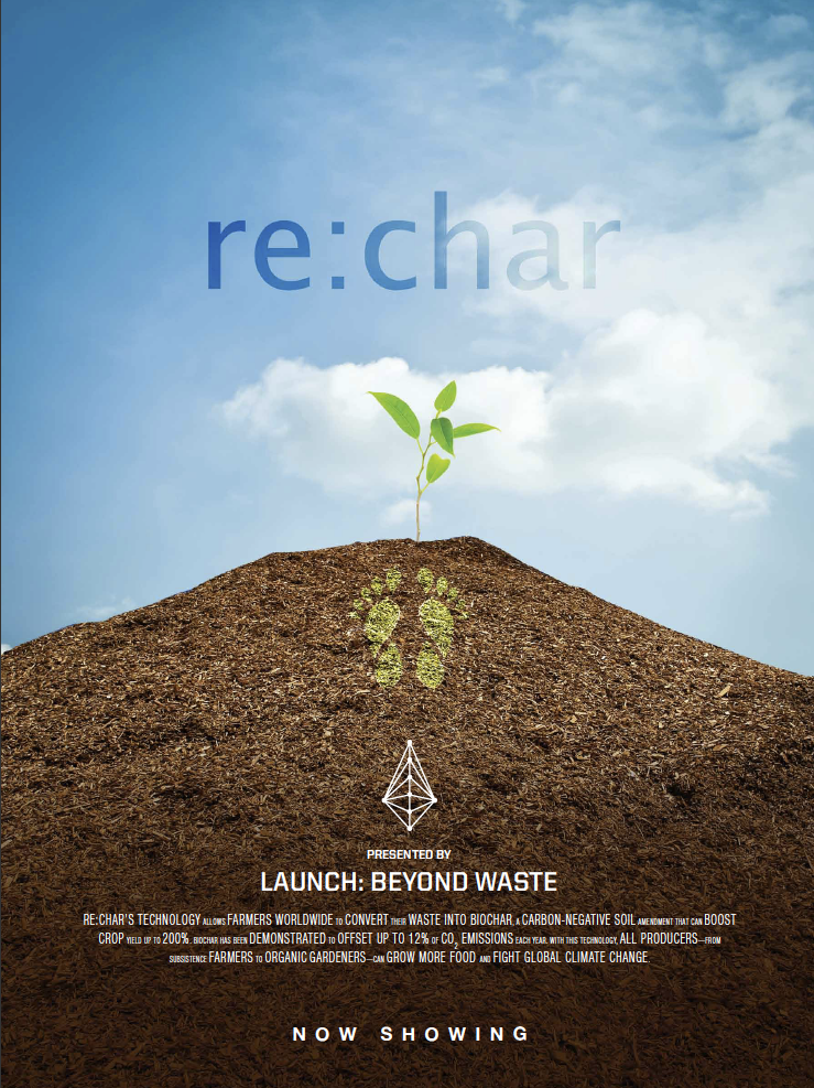 re:char - LAUNCH: Beyond Waste innovator