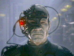 Star Trek Captain Jean-Luc Picard as Borg