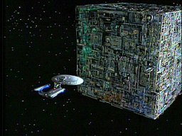 Star Trek: Borg spacecraft