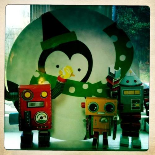Spacebots enjoyed their first Blue Planet Christmas.
