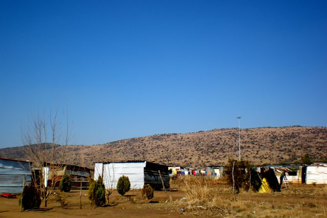 South Africa squatter's village. Image: Beth Beck