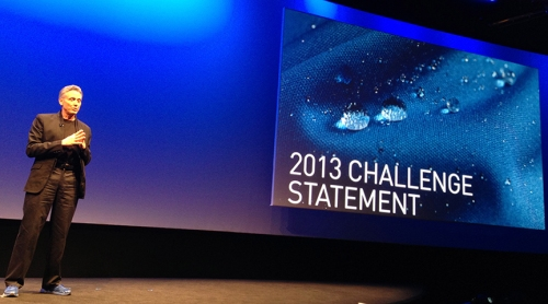 LAUNCH partner Alan Hurd of State Department announces the 2013 Challenge