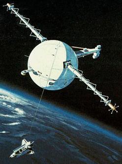 NASA Tethered Satellite Mission
