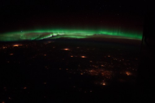 Space Station Expedition 34: Northern Lights