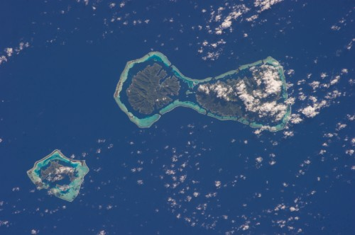 Space Station Expedition 37: French Polynesia