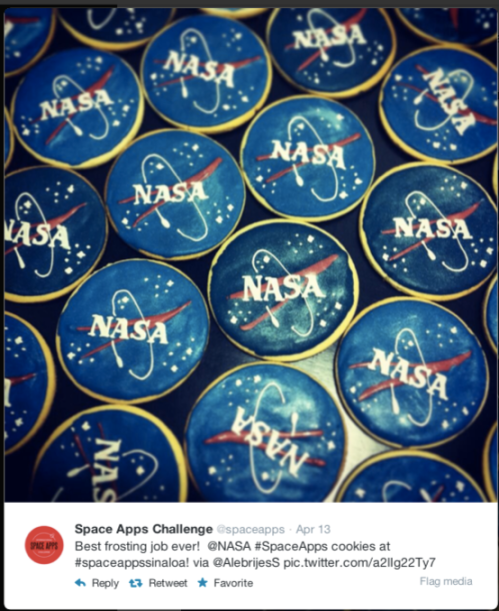 Space Apps Sinaloa Cookies