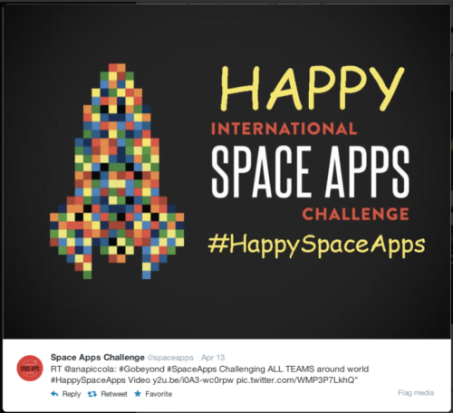 Space Apps Go Beyond
