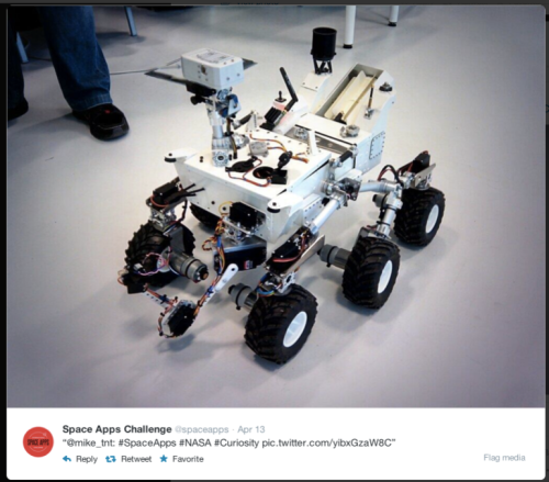 Space Apps Rover