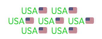USA Flags