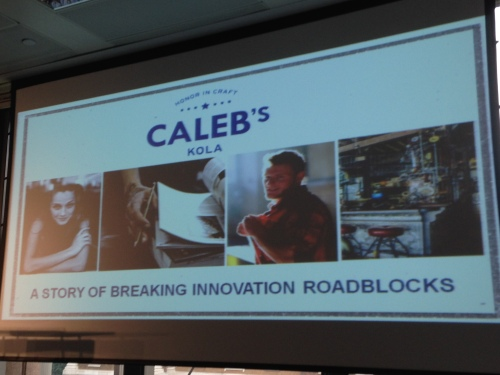 Caleb's Kola: 2014 Global Innovation Forum