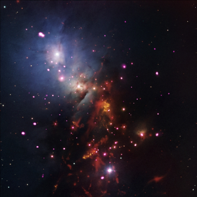 NGC 1333 Star Cluster