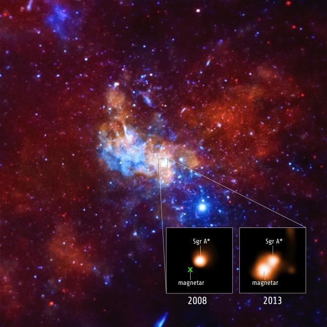 SGR 1745-2900 Magnetar is a dense neutron star.