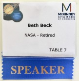 "It's super strange to see ""Retired"" on my badge. I guess that means it's official. ;)"