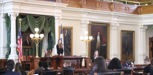 Floor debate at the Texas Capitol. Image credit: YMCA TX
