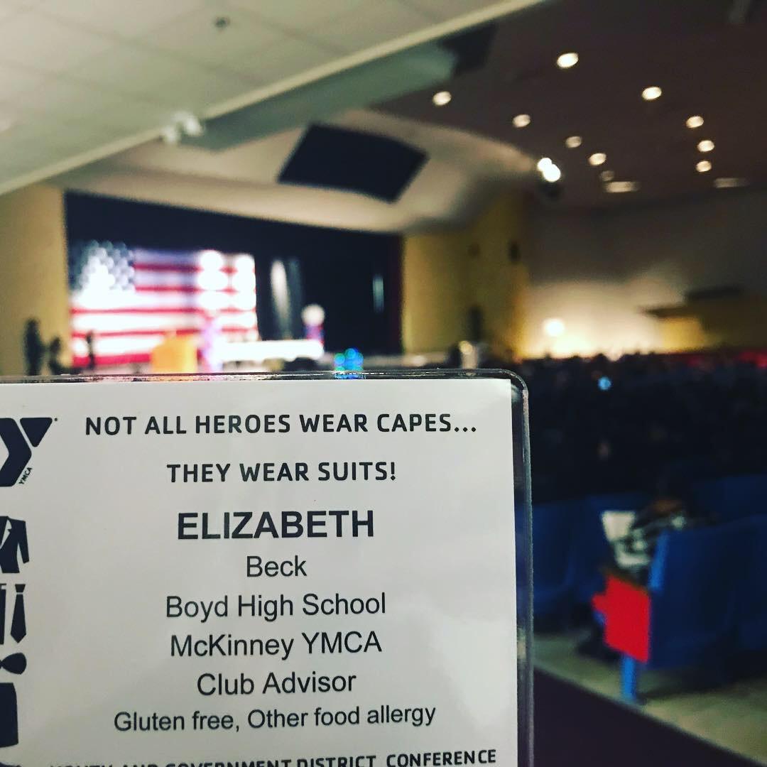 My Badge: YMCA Texas YG District 5